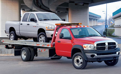 flat bed long distance towing services