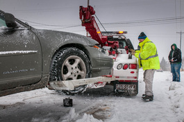 Winter Towing Raleigh NC